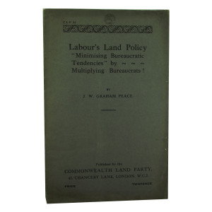 Labour's Land Policy pamphlet