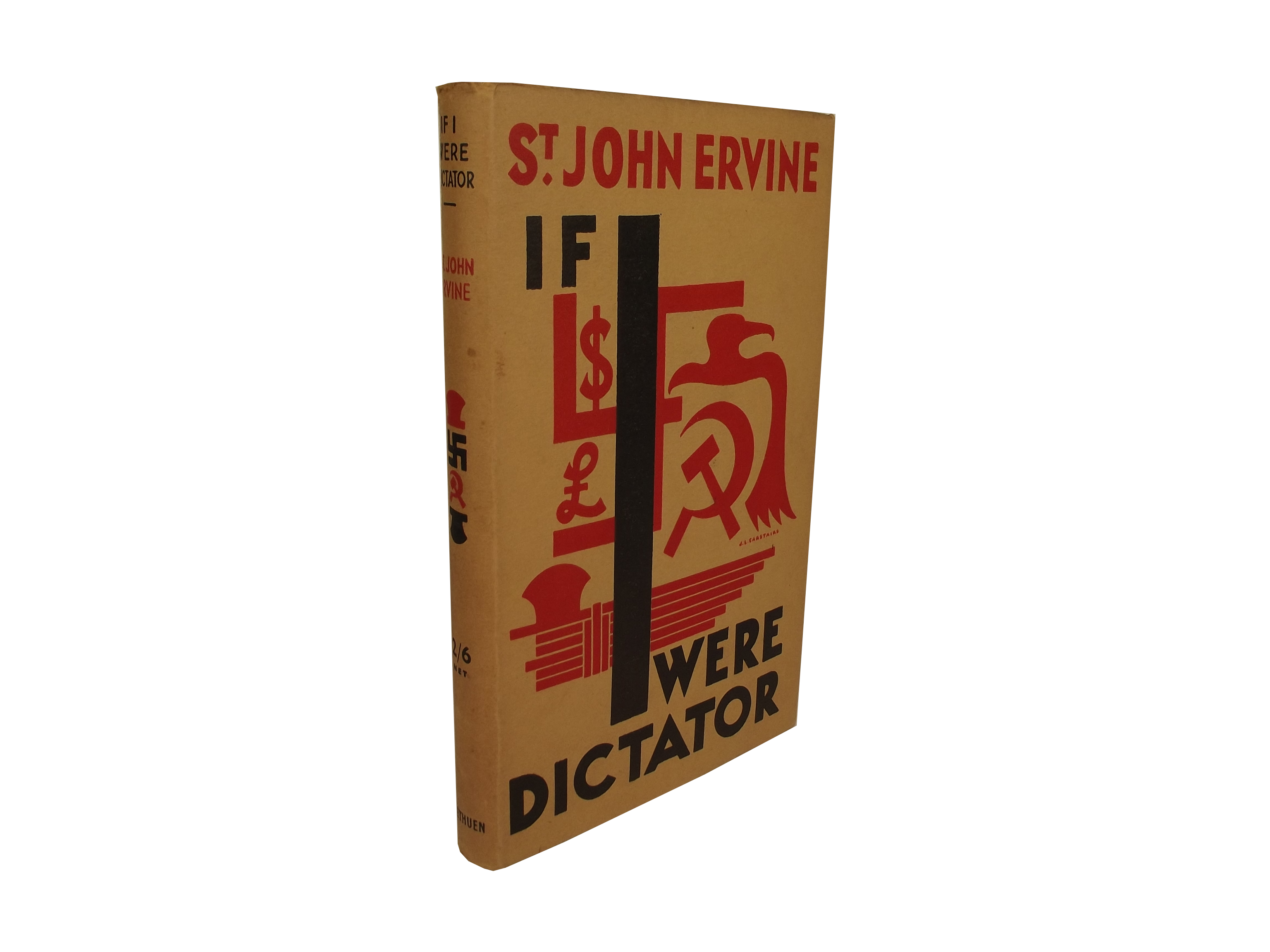 Ervine's If I Were Dictator book