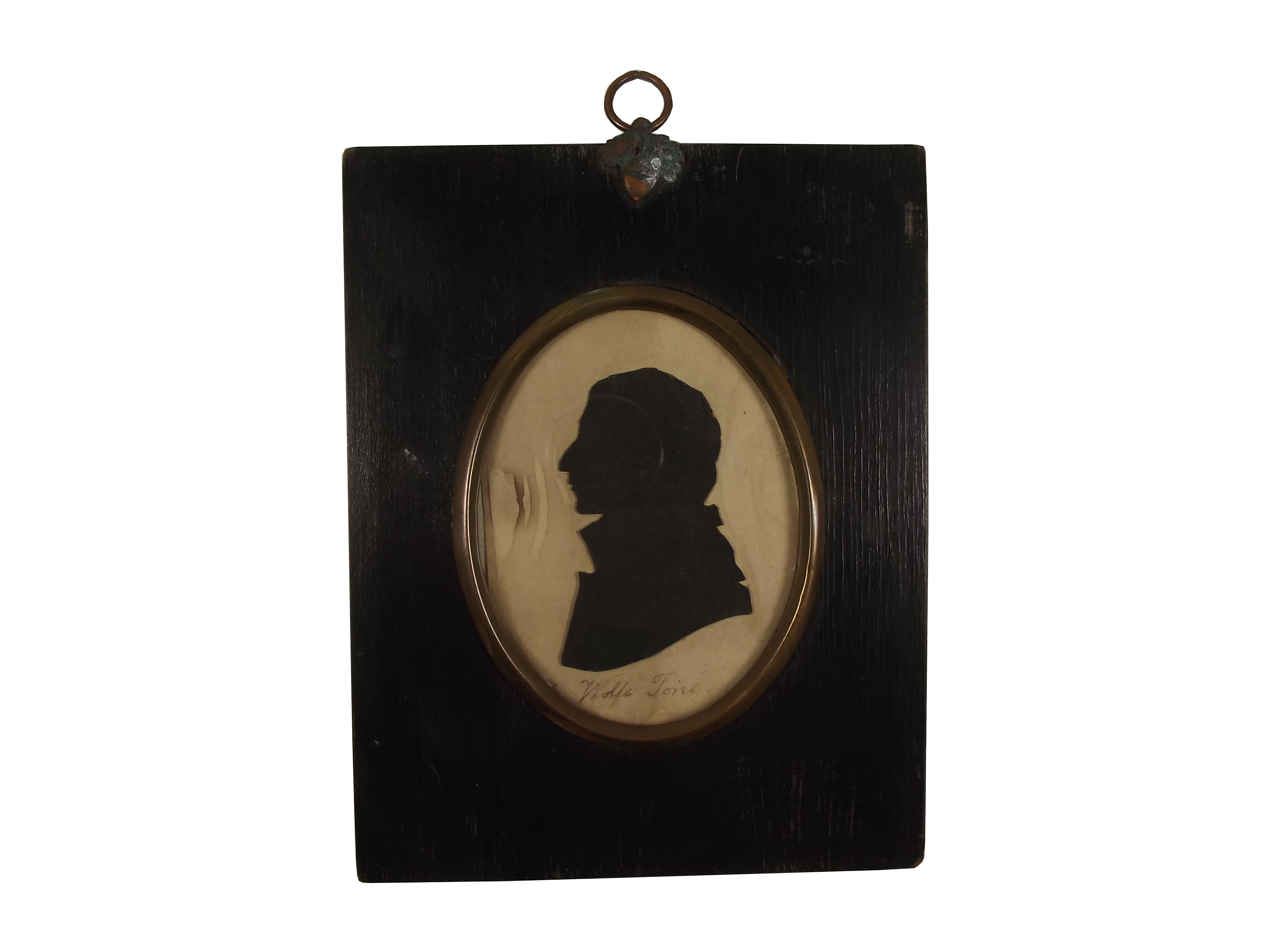 Wolfe Tone silhouette