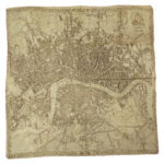 London cloth map