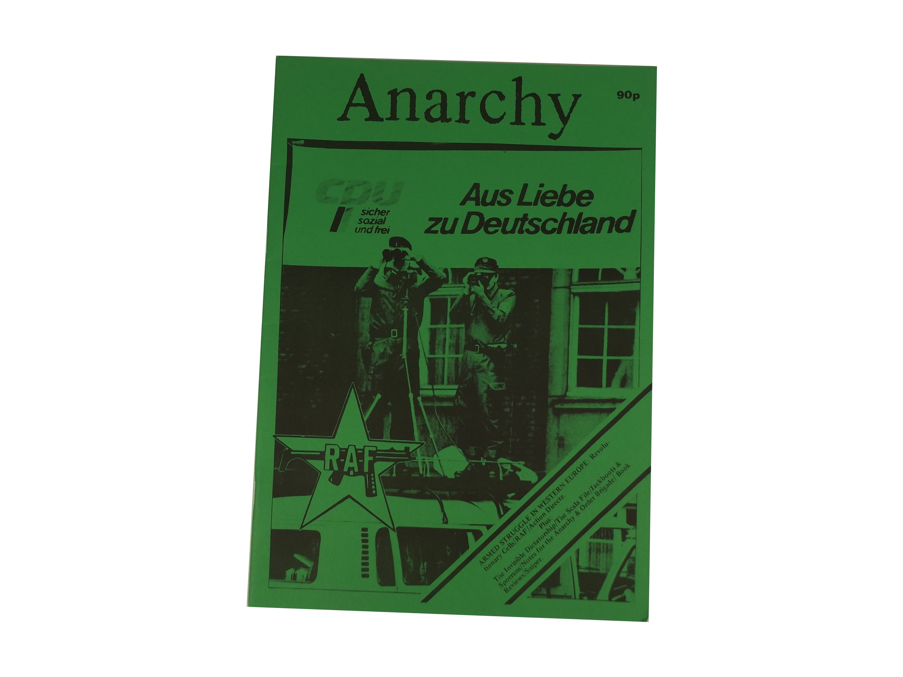 Anarchy, Second Series, Issue 38 cover