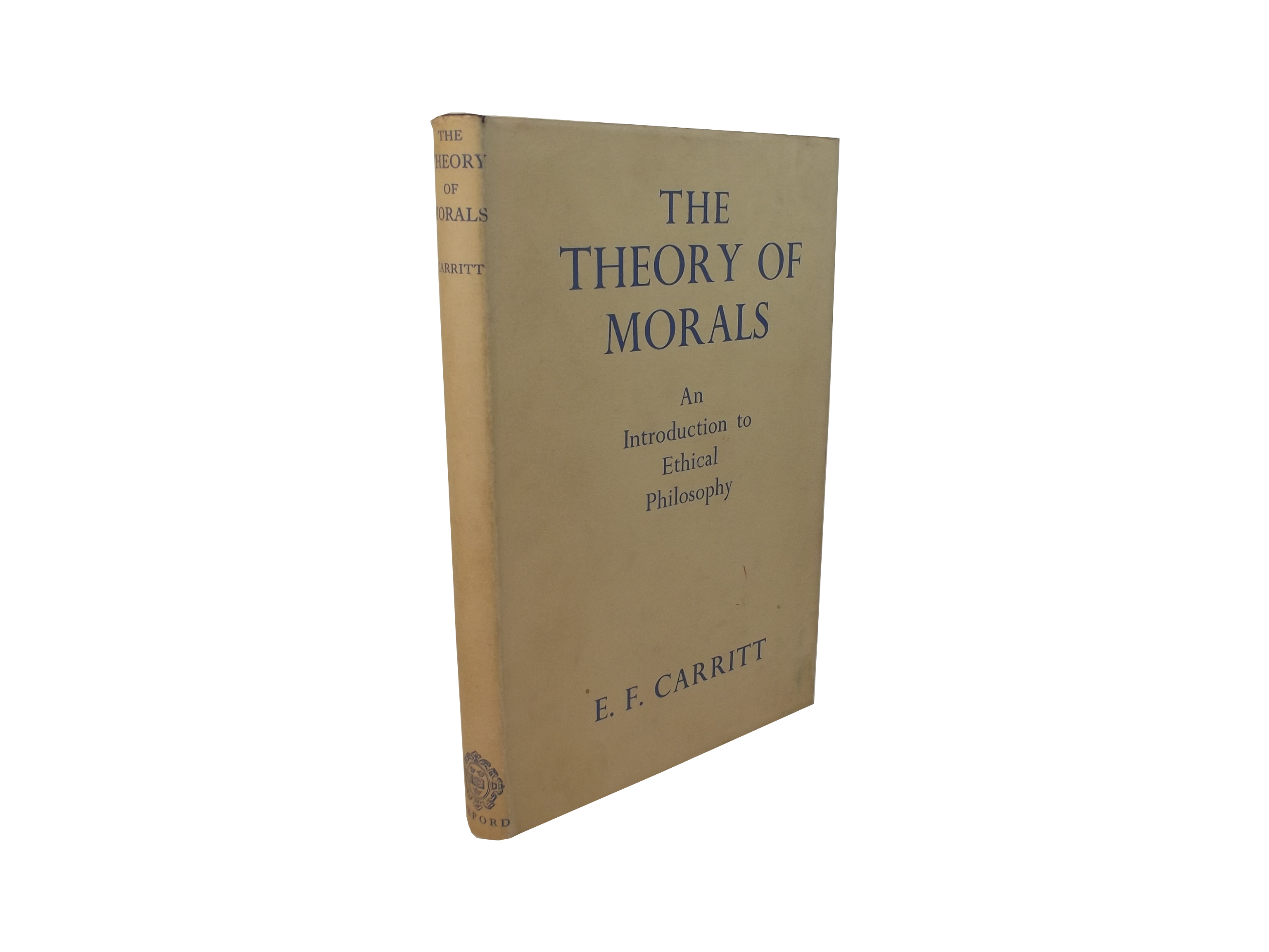 The Theory of Morals