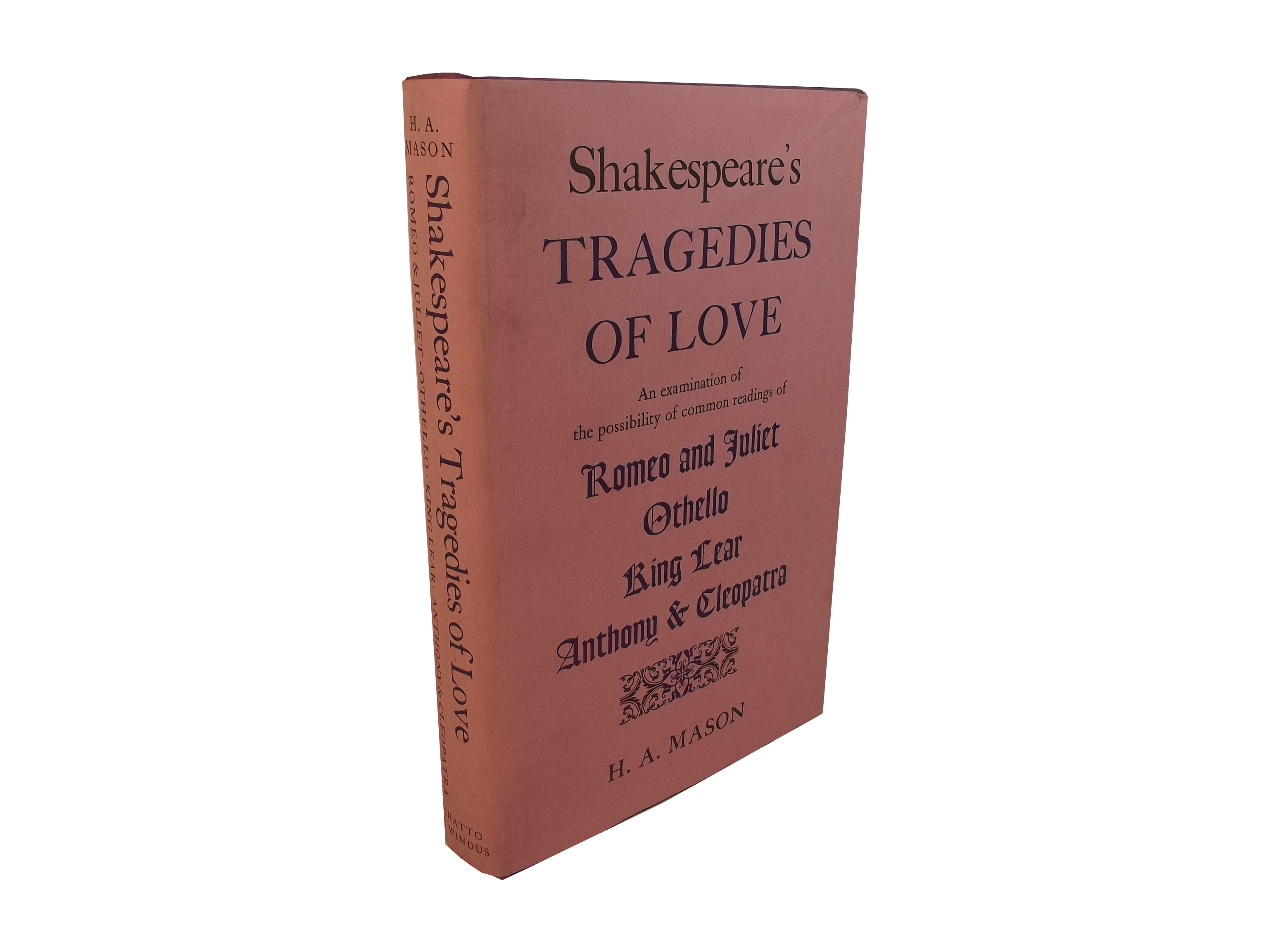 Shakespeare's Tragedies of Love