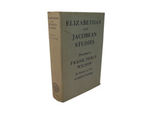 Elizabethan and Jacobean Studies