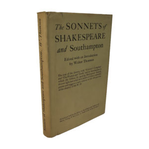 Sonnets of Shakespeare and Southampton
