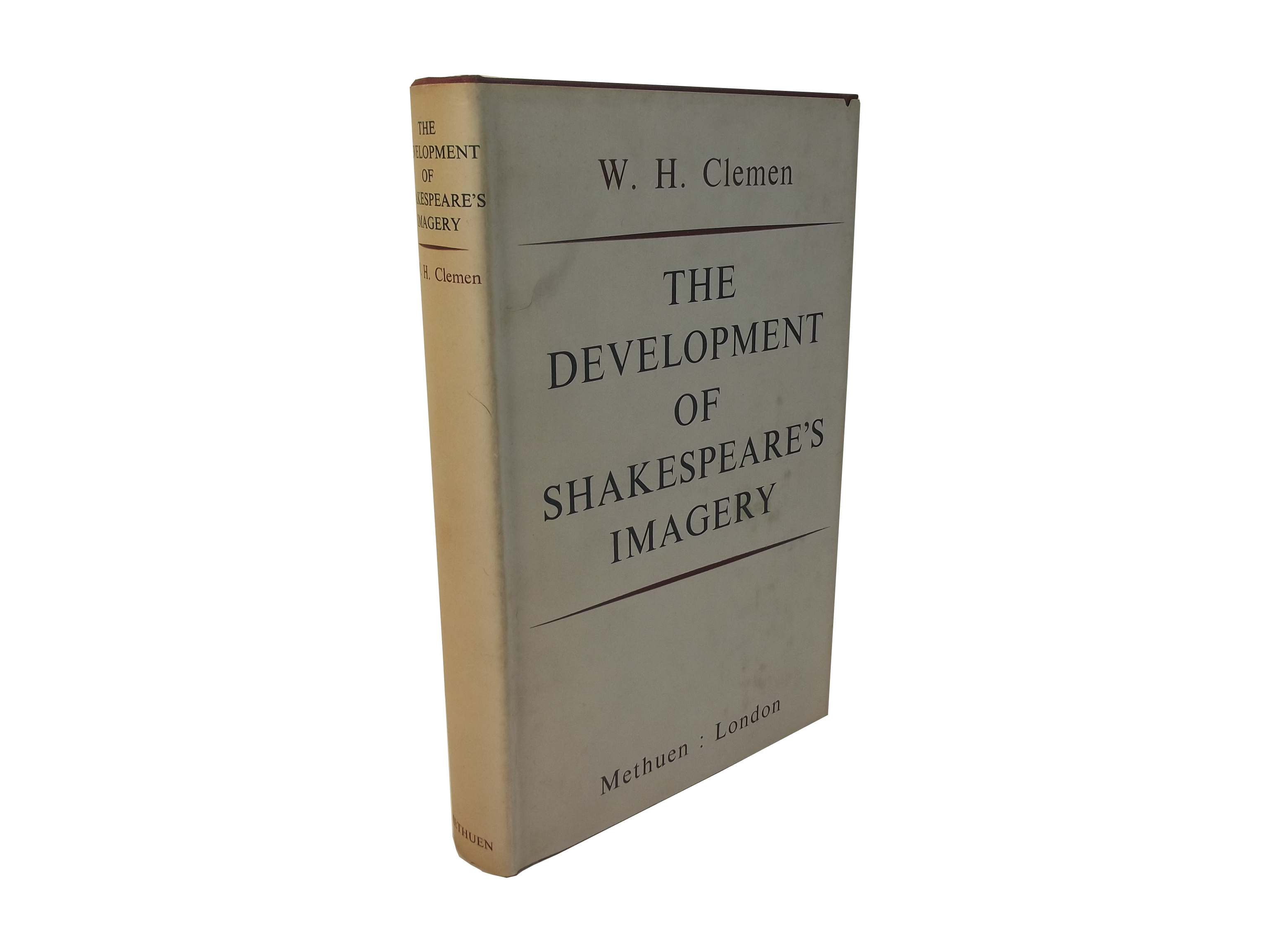 Development of Shakespeare's Imagery