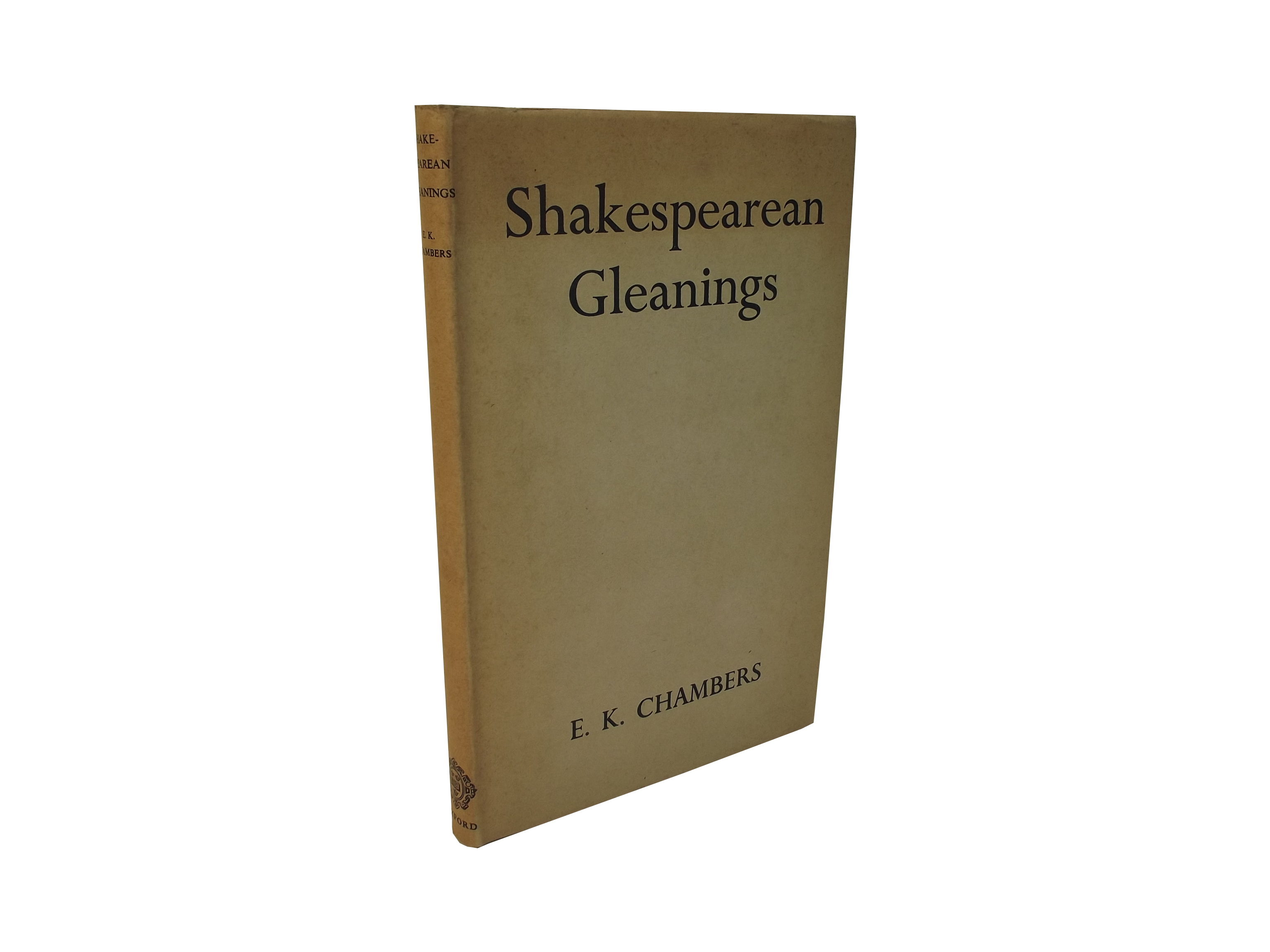 Shakespearean Gleanings