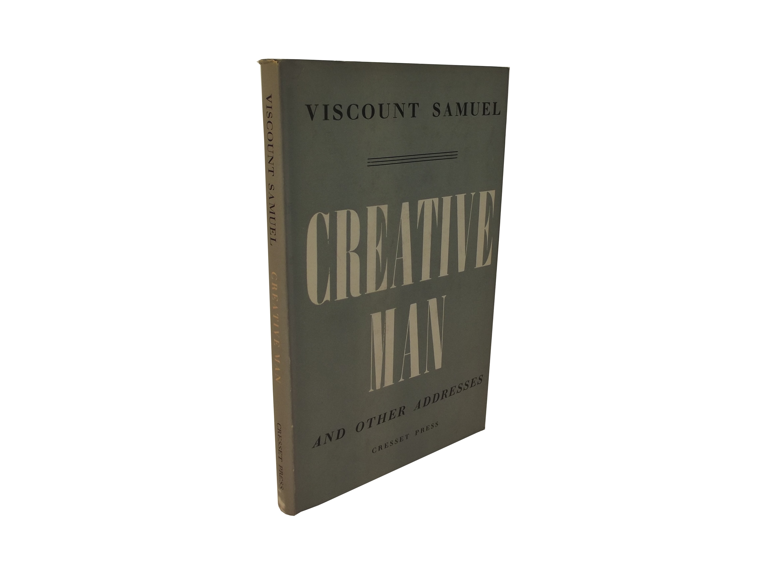 Creative Man and Other Essays