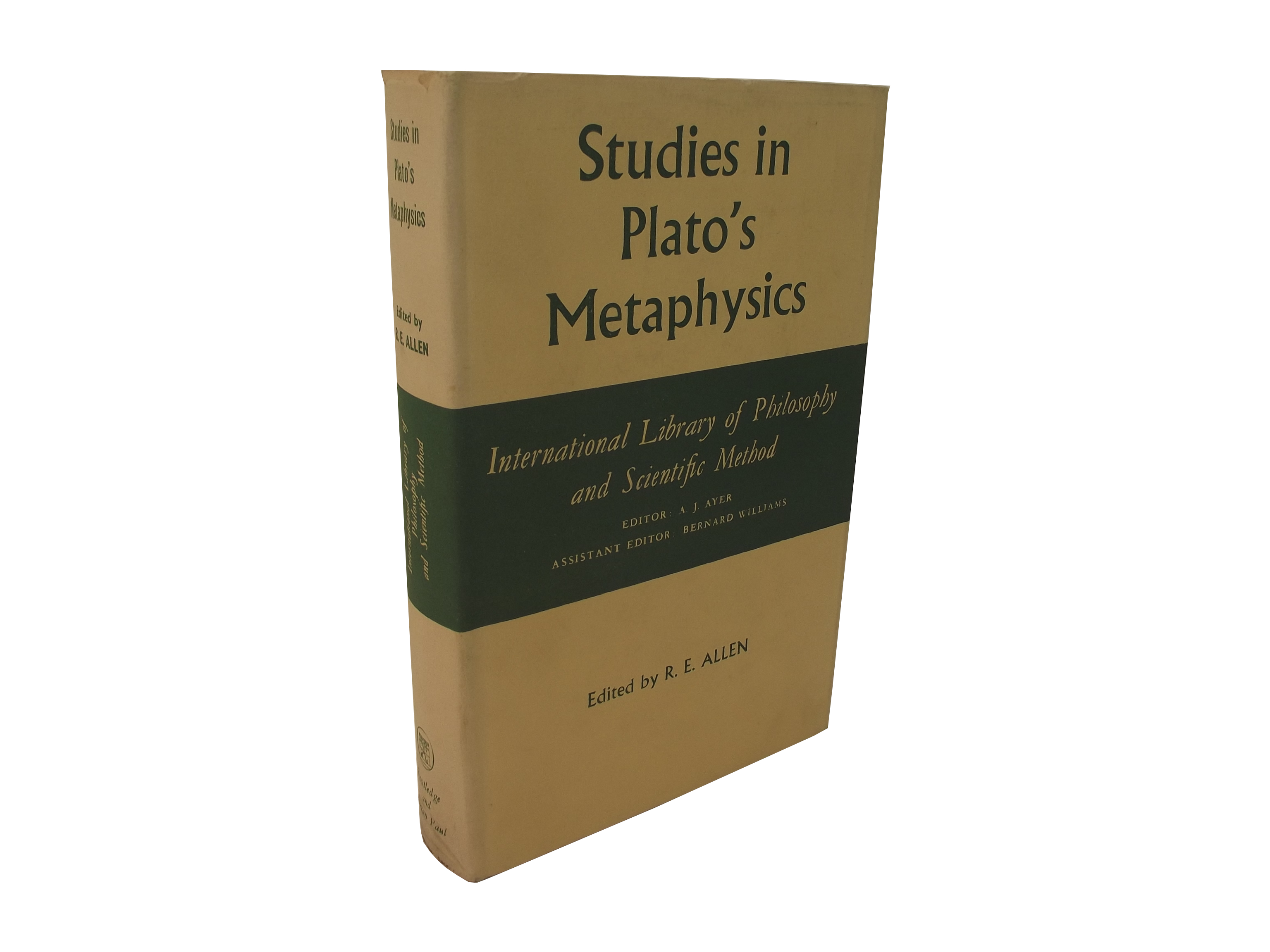 Studies in Plato's Metaphysics