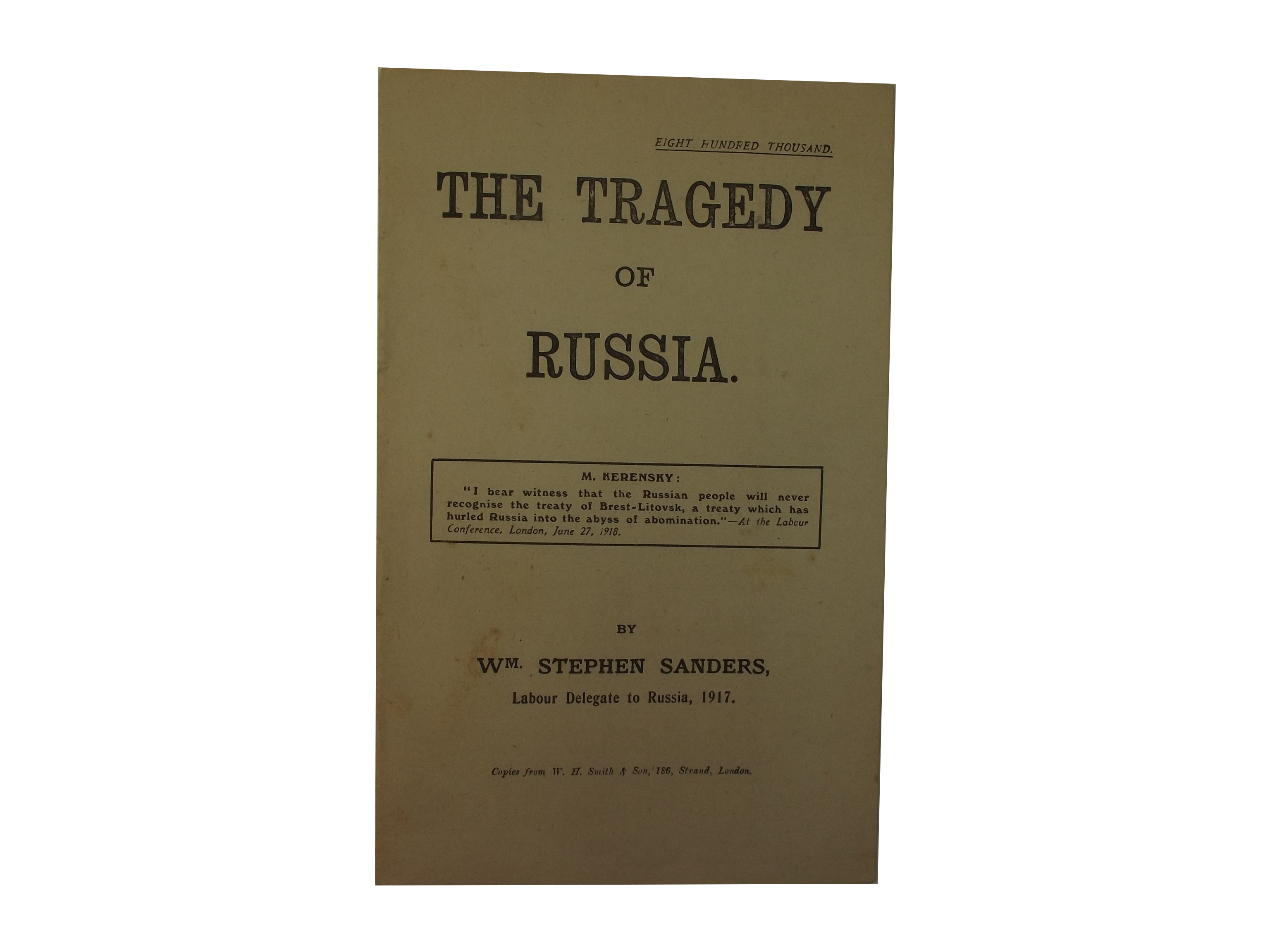 Tragedy of Russia