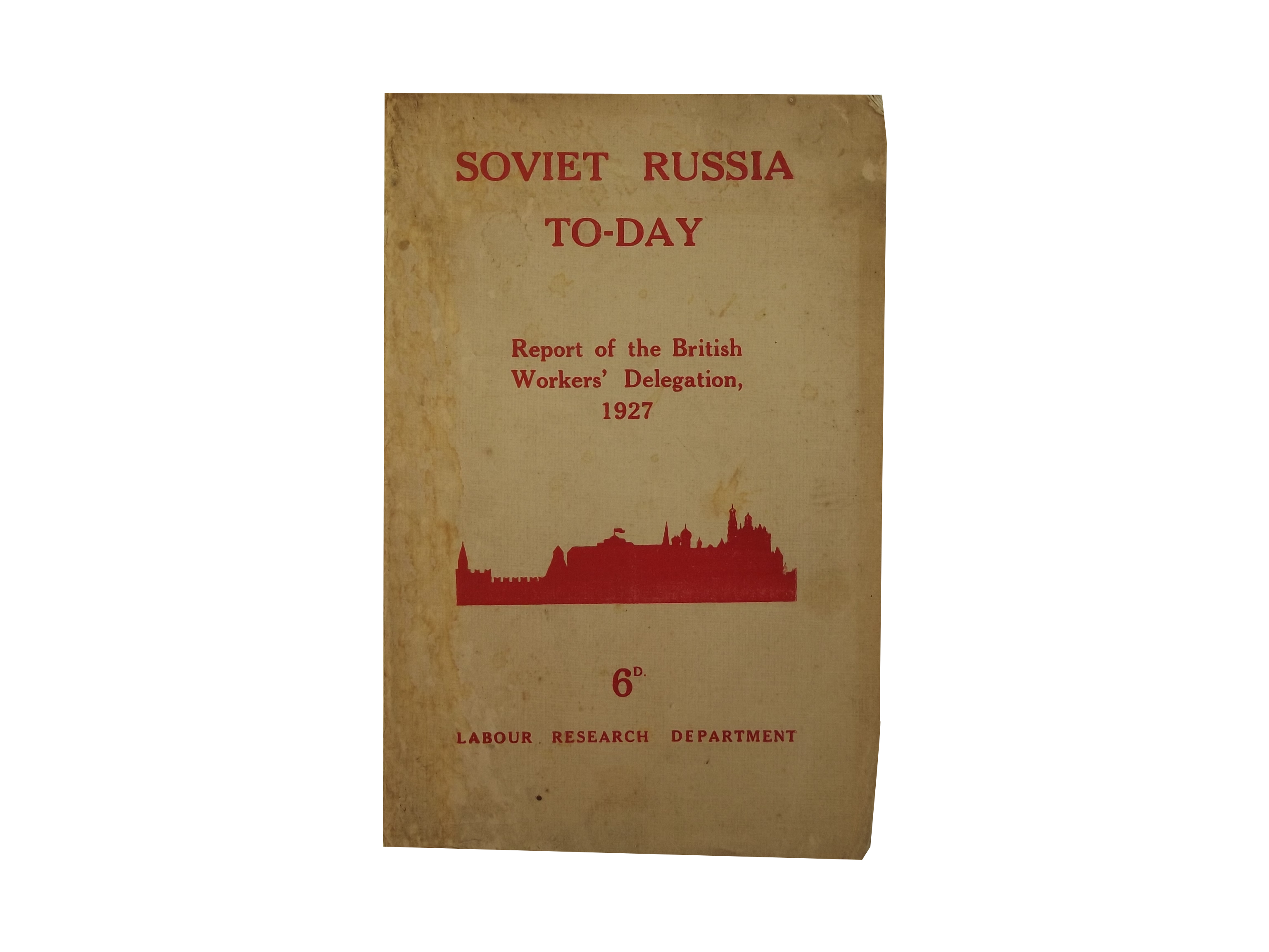 Soviet Russia To-Day