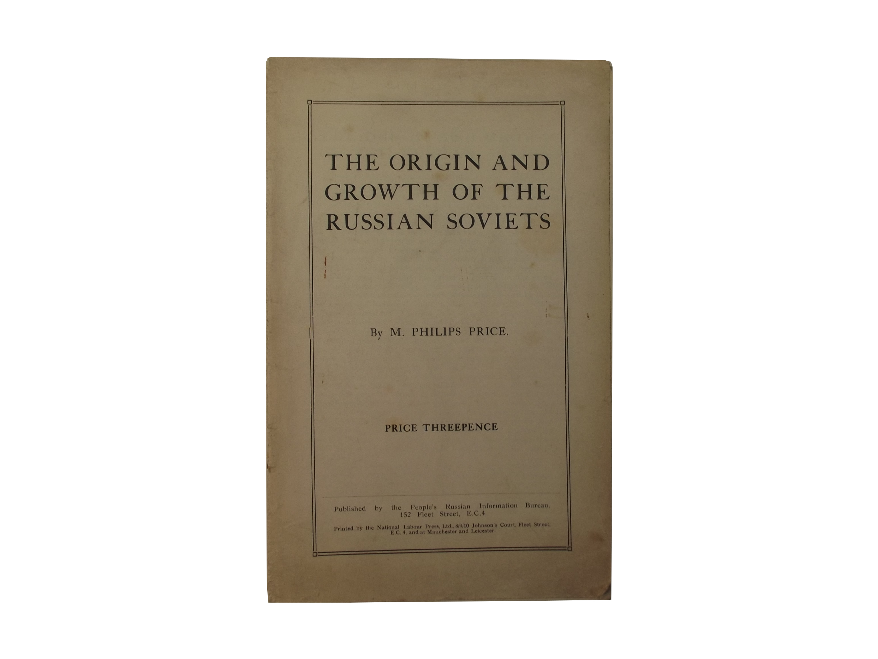 Origin and Growth of the Russian Soviets