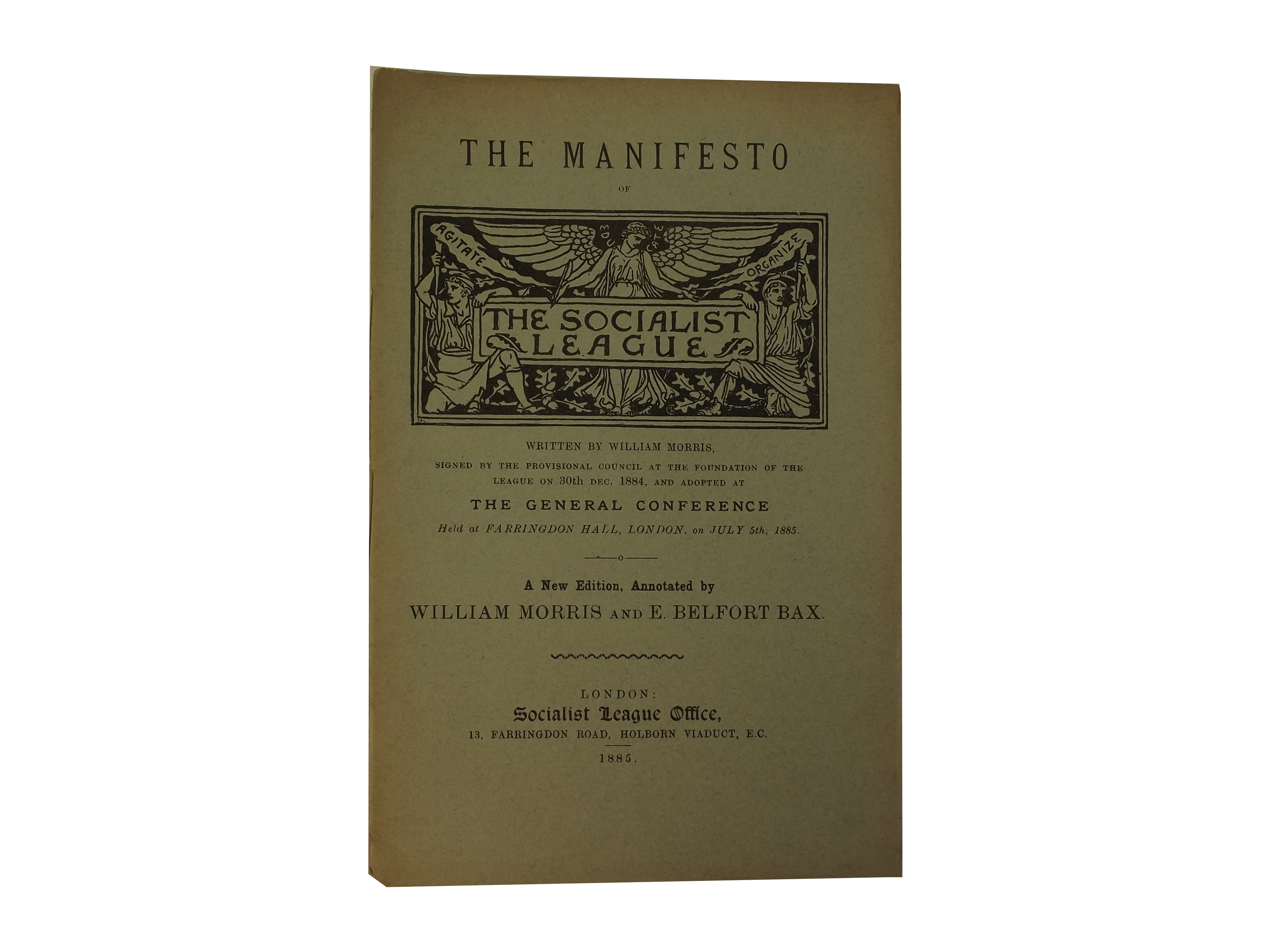 Manifesto of the Socialist League