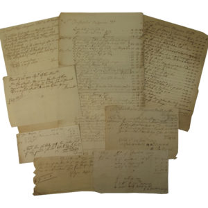 Collection of Household Bills
