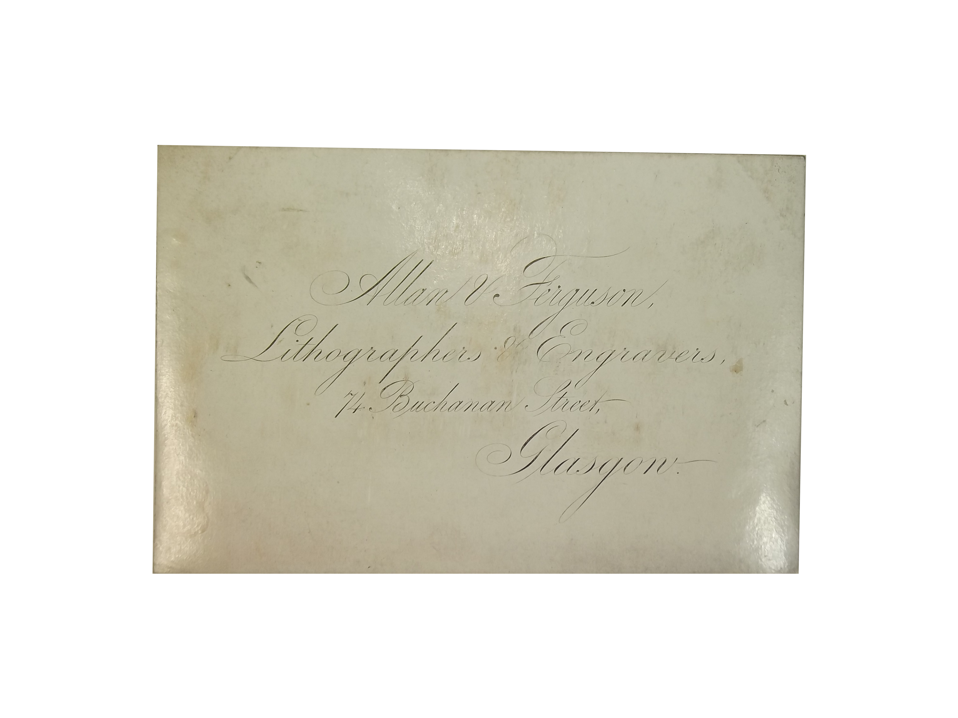 Lithographers & Engravers