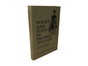 Police and State in Prussia, 1815-1850