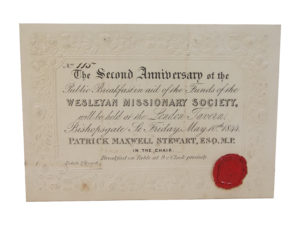 Funds for Wesleyan Missionaries