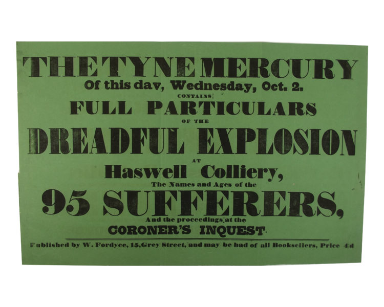 Haswell Colliery Explosion