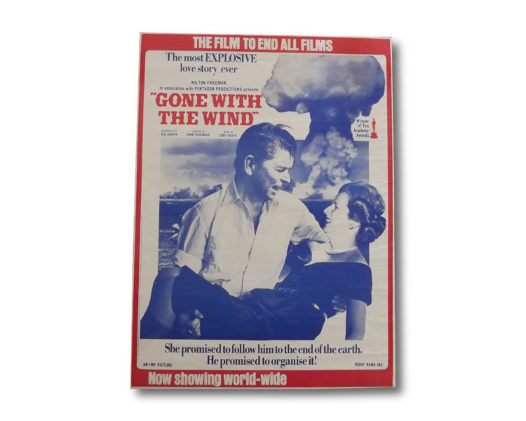 Gone With the Wind satiric poster