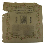 Salvation Army Congress Tissue